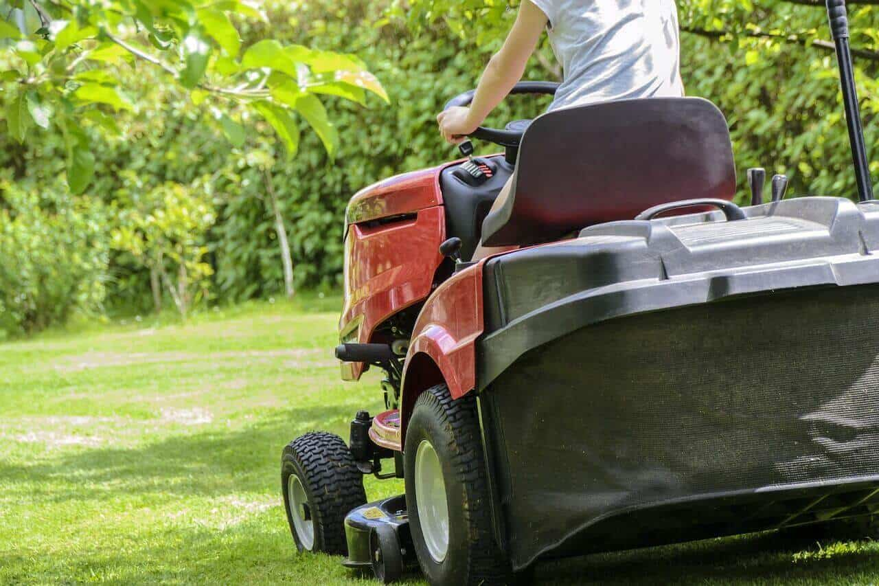 Why use a riding lawn mower