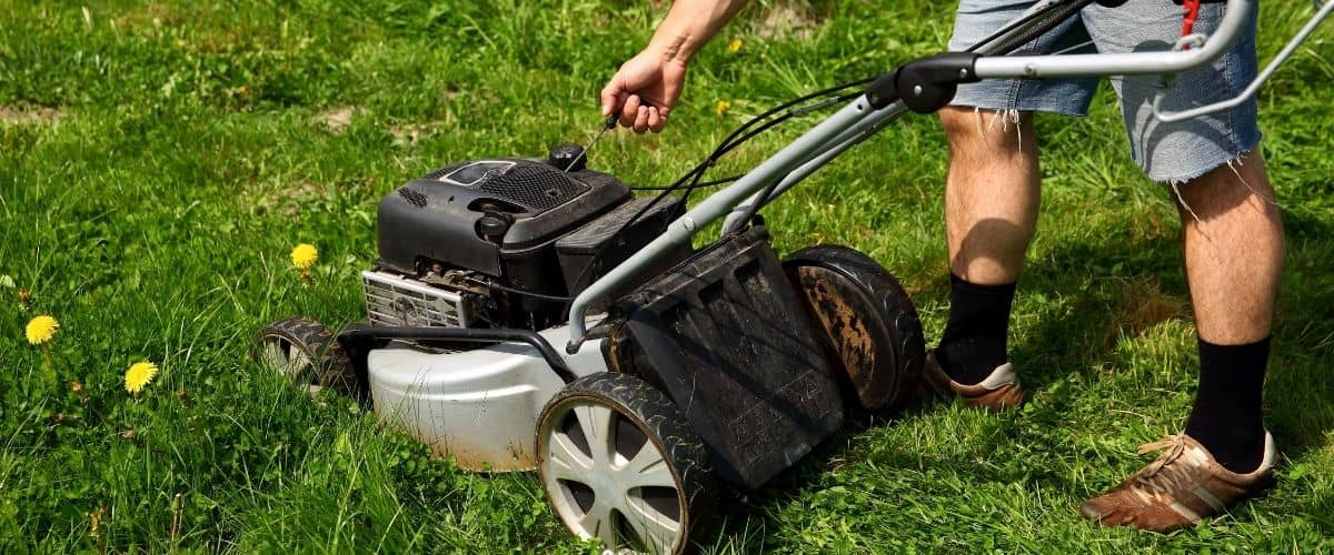Lawn Mower Won't Stay Running