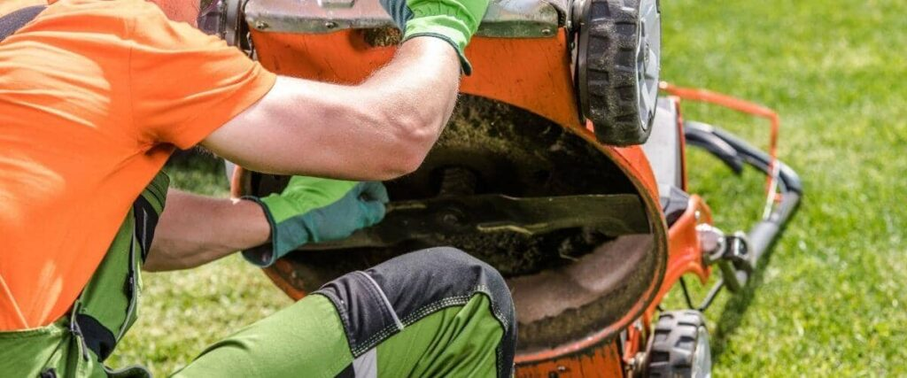 How To Sharpen Lawn Mower Blades Without Removing